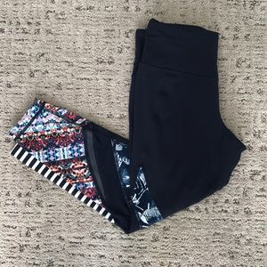 Athlete cropped leggings - size Small Petite